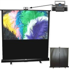 "Matte White Piper Portable Screen - 55"" HDTV Format"