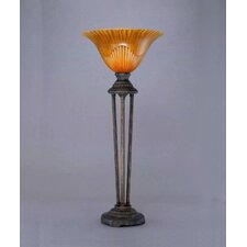 "Tiger 32"" H Table Lamp with Bell Shade"