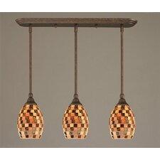 3 Light Multi Light Mini Pendant With Hang Straight Swivels