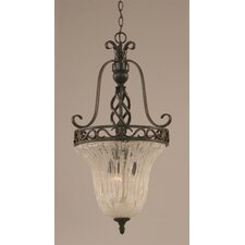 Eleganté 3 Light Foyer Pendant