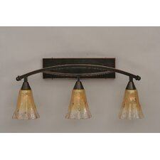 Bow 3 Light Bath Vanity Light