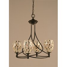 Capri 4 Light Chandelier