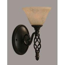 Elegante 1 Light Wall Sconce