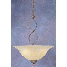 Jazz 3 Light Uplight Inverted Pendant