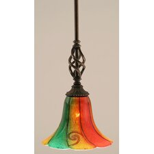 Eleganté 1 Light Mini Pendant