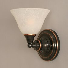<strong>Toltec Lighting</strong> 1 Light Wall Sconce