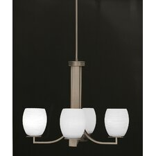<strong>Toltec Lighting</strong> Apollo 4 Light Chandelier