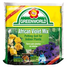African Violet Potting Soil With 6 Month Fertilizer (6/Box)