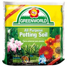 All Purpose Potting Soil With Nine Month Fertilizer (6/Box)