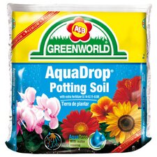 AquaDrop, Water Controlled Potting Soil With Nine Month Fertilizer (6/Box)