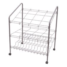12 Opening Upright Roll File Filing Cart