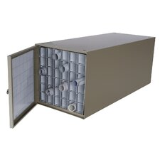 Stackable Steel Roll File with 36 Compartments for Blueprints