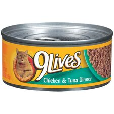 Chicken and Tuna Dinner Cat Food (5.5-oz, case of 24)