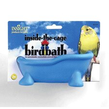 Insight Inside-The-Cage Bird Bath