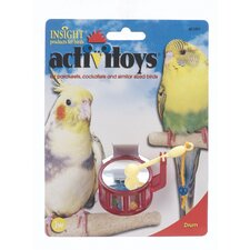 Activitoys Small Drum Bird Toy