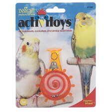 Activitoys Hypno-Wheel Bird Toy