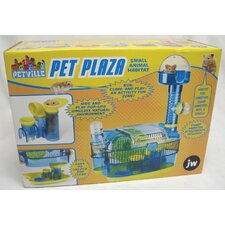 <strong>J.W. Pet Company</strong> Petville Pet Plaza Small Animal Modular Habitat