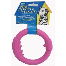<strong>J.W. Pet Company</strong> Large Single Big Mouth Rings Dog Toy