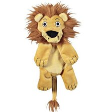Crackle Heads Lion Dog Toy