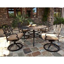 <strong>AIC Garden & Casual</strong> Kingston 5 Piece Dining Set