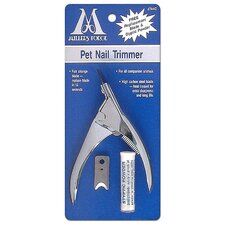 Guillotine Pet Nail Clipper in Green