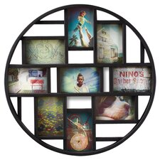 Luna Nine-Opening Collage Frame and Wall Décor