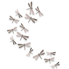 Wallflutter Dragonflies Wall Décor (Set of 20)