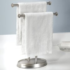 Free Standing Palm Double Hand Towel Rack
