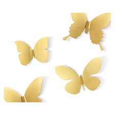 9 Piece Metal Mariposa Wall Décor Set