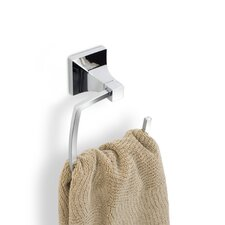Zen Towel Ring in Chrome