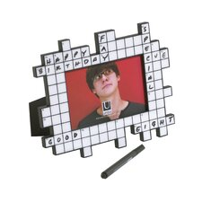 Crossword Picture Frame