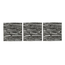 Tali Wall Art in Charcoal (Set of 3)