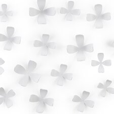 Wall Flower in White (Set of 25)