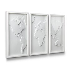 <strong>Umbra</strong> 3 Piece Mapster Wall Décor