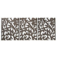 <strong>Umbra</strong> Arbera Wall Art in Bronze (Set of 3)