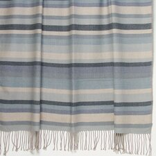 <strong>Kevin O'Brien Studio</strong> Kevin O'Brien Striped 2-Ply Cashmere / Merino Throw