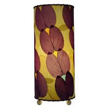 "Butterfly 16.5"" H Table Lamp with Drum Shade"