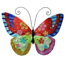 <strong>Eangee Home Design</strong> Flower Power Butterfly Wall Décor