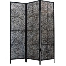 "<strong>Eangee Home Design</strong> 69"" Nito Screen Room Divider"