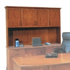 "<strong>DMI Office Furniture</strong> Belmont 50"" H x 74.5"" W Lighted Desk Hutch"