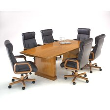 Belmont 10' Boat Shaped Conference Table