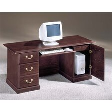 Andover Tower Computer Executive Desk