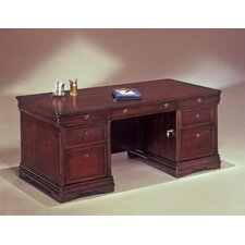 "<strong>DMI Office Furniture</strong> Rue De Lyon 72"" W Executive Desk"