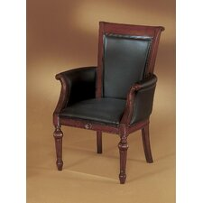 <strong>DMI Office Furniture</strong> Rue De Lyon Leather Guest Chair
