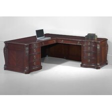 <strong>DMI Office Furniture</strong> Balmoor Executive L-Shape Desk with Right Return