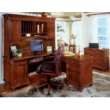<strong>DMI Office Furniture</strong> Antigua L-Shape Desk Office Suite