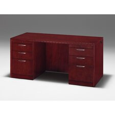 "<strong>DMI Office Furniture</strong> Summit Reed 66"" W Kneehole Credenza"
