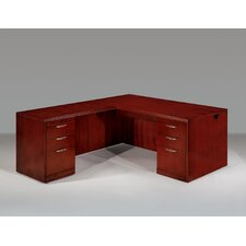 Summit Reed Right L-Shape Executive Desk (Flat Pack)