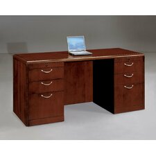 <strong>DMI Office Furniture</strong> Summit Cope Executive Desk (