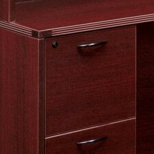 <strong>DMI Office Furniture</strong> Fairplex Bow Front U Executive Desk with Corner Credenza